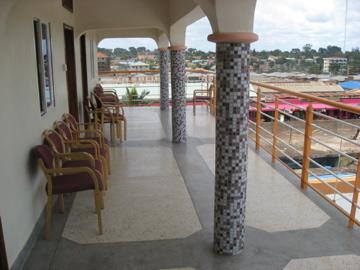 Hotel Florida balcony